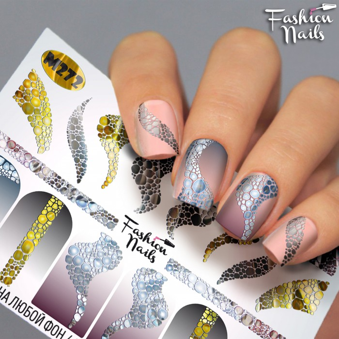 Fashion Nails, Слайдер-дизайн M272