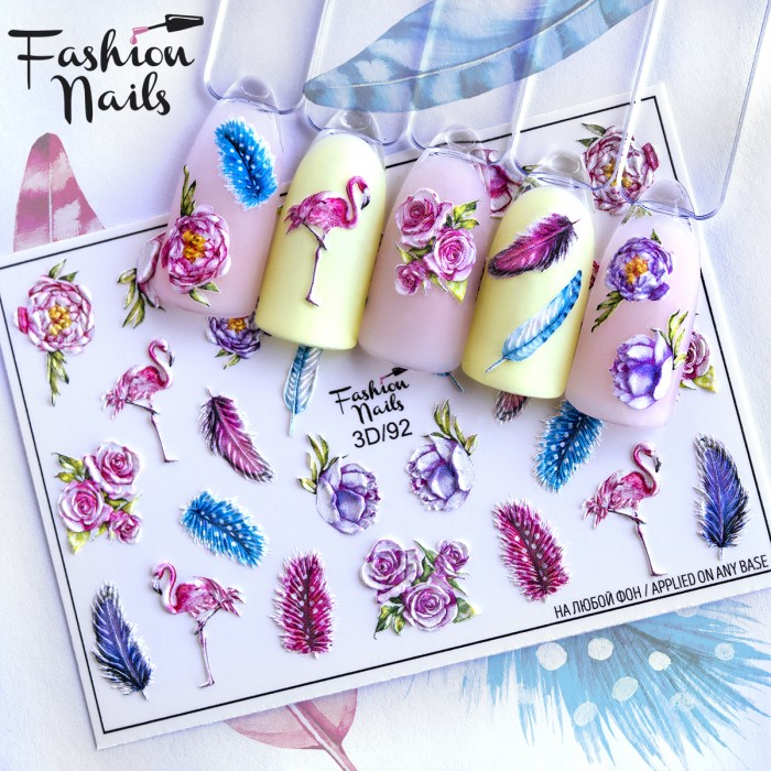 Fashion Nails, Слайдер-дизайн 3D/92