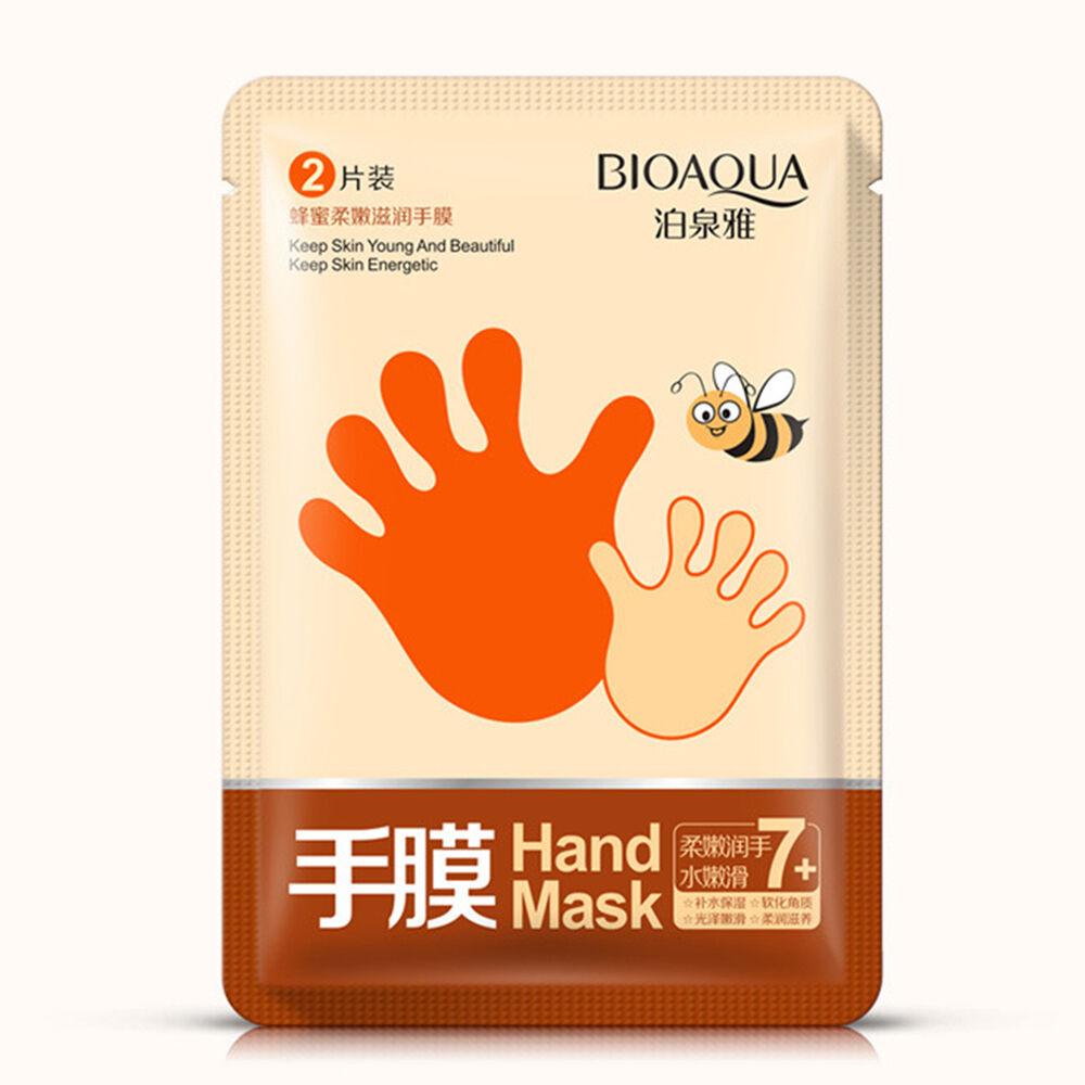 BIOAQUA, Увлажняющая Маска-перчатки с медом, 35 гр