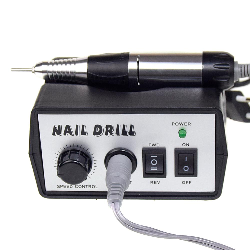 Профессиональная дрель для маникюра и педикюра DM-205 черная (35 000 об/мин)