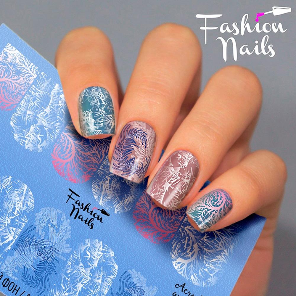 Fashion Nails, Слайдер-дизайн Aerography 43