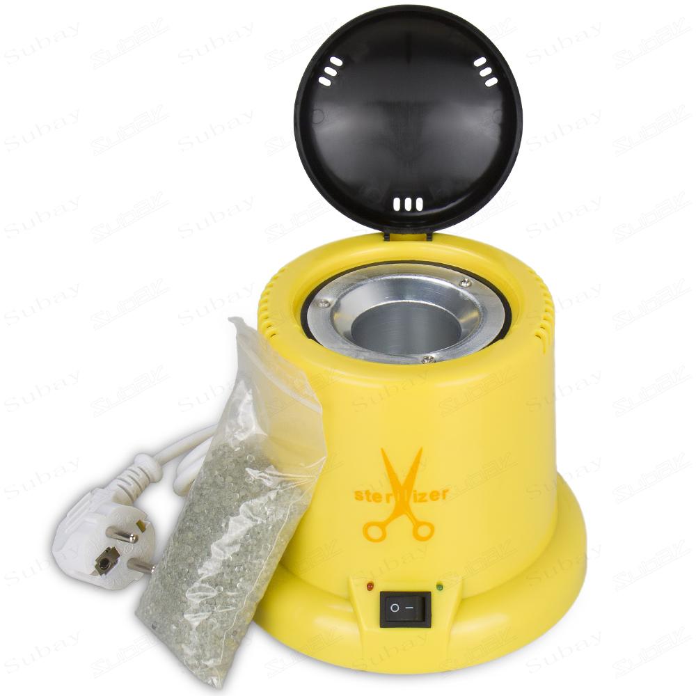 Стерилизатор Konsung Beauty для маникюрных инструментов(шариковый) Жёлтый