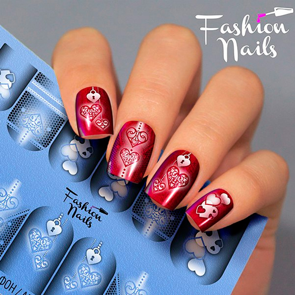 Fashion Nails, Слайдер-дизайн Aerography 20