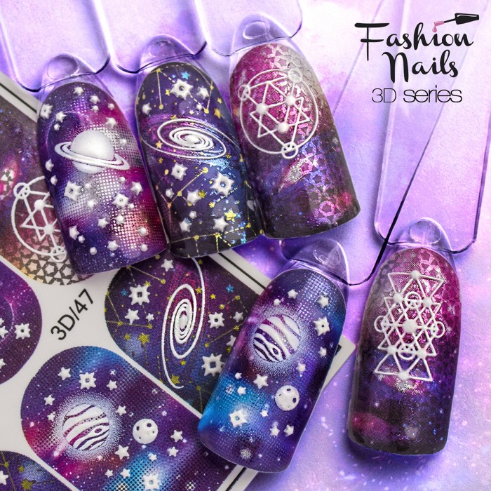 Fashion Nails, Слайдер-дизайн 3D/47