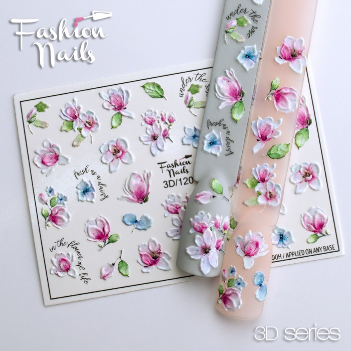 Fashion Nails, Слайдер-дизайн 3D/120