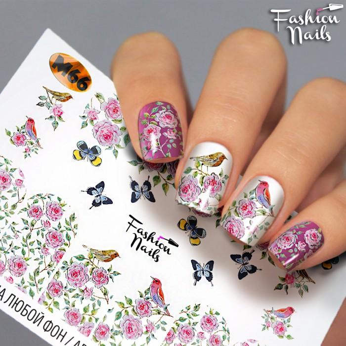 Fashion Nails, Слайдер-дизайн M66