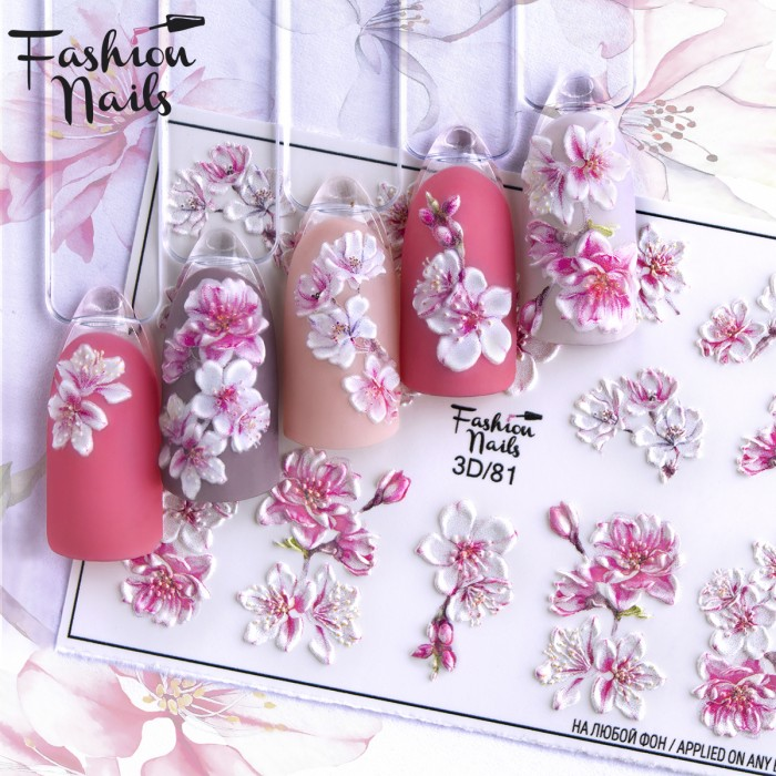 Fashion Nails, Слайдер-дизайн 3D/81